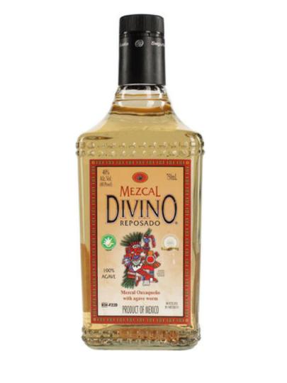 Divino Reposado Mezcal with Worm 750ml Bottle