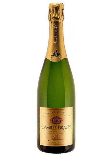 Camille Braun Cremant d'Alsace Brut 750ml Bottle