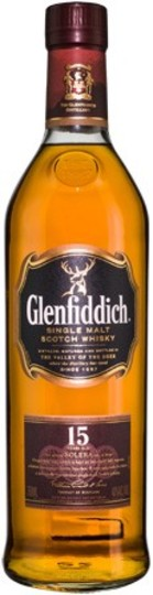Glenfiddich Unique Solera Reserve 15 Year Old Single Malt Scotch Whisky 750ml Bottle