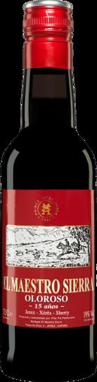 Bodegas El Maestro Sierra Oloroso 15 Anos Sherry 375ml Half Bottle