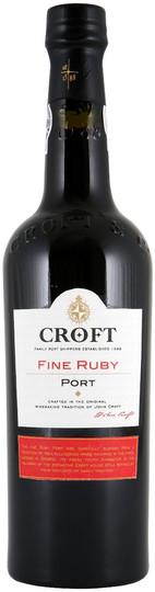 Croft Fine Ruby Port 750ml Bottle
