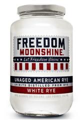 Freedom Moonshine White Rye Unaged American Rye