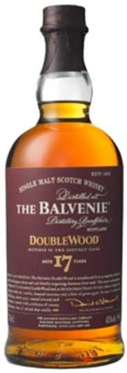 The Balvenie DoubleWood 17 Year Old Single Malt Scotch Whisky 750ml Bottle