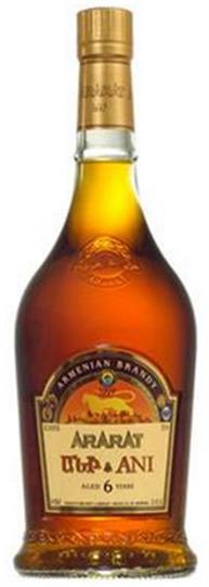 Ararat 6 Year Old Ani Brandy 750ml Bottle