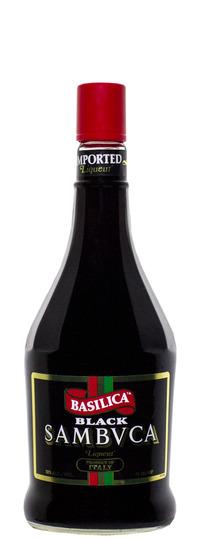 Basilica Sambuca Black Liqueur 750ml Bottle
