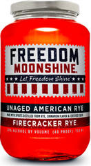 Freedom Moonshine Firecracker Rye Unaged American Rye