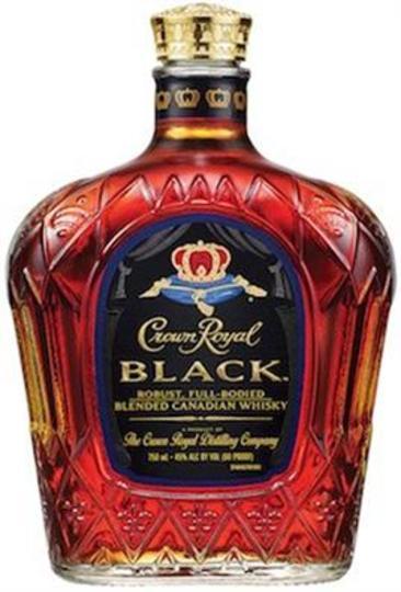 Crown Royal Black Canadian Whisky 1lt Bottle