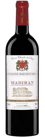 Domaine Berthoumieu Cuvee Charles de Batz Madiran 750ml Bottle