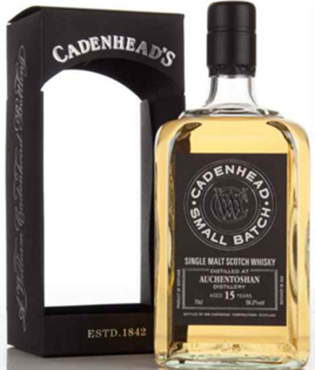 Cadenheads Small Batch Auchentoshan 15 Year Old Single Malt Scotch Whisky 750ml Bottle