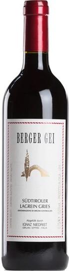 Ignaz Niedrist Berger Gei Lagrein Gries Alto Adige 750ml Bottle