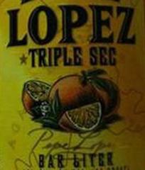 Pepe Lopez Triple Sec Liqueur