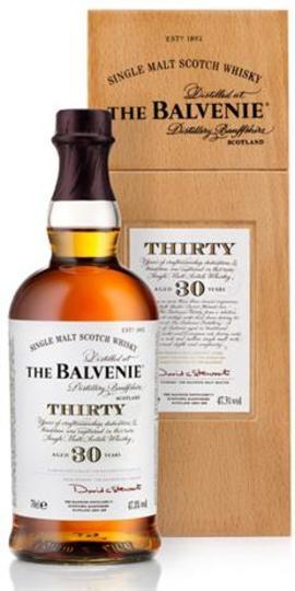 The Balvenie Thirty 30 Year Single Malt Scotch Whisky 750ml Bottle
