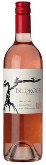 Bedrock Wine Co. Ode to Lulu Rose of Mourvedre 750ml Bottle