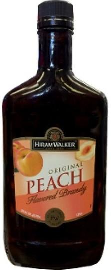Hiram Walker Peach Brandy 375ml Bottle