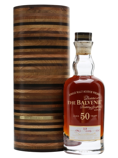 The Balvenie 50 Year Old Single Malt Scotch Whisky 750ml Bottle