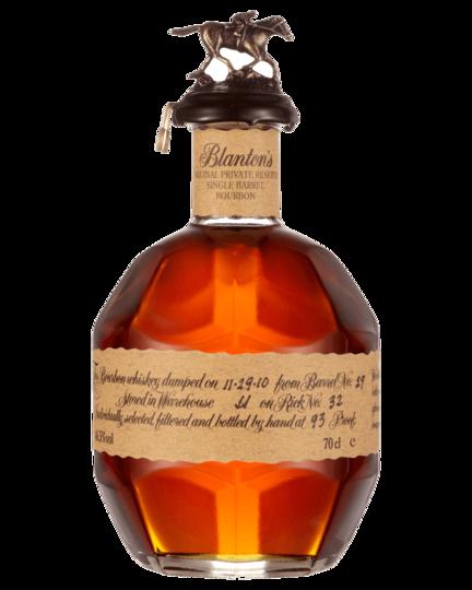 Blanton's Vertical Collection   Gold, SFTB, Special Reserve & Original Private Reserve Bourbon 700ml Bottle