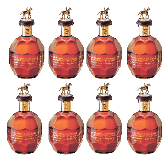 Blanton's Gold Edition Bourbon Complete Stopper Collection 700ml Bottle