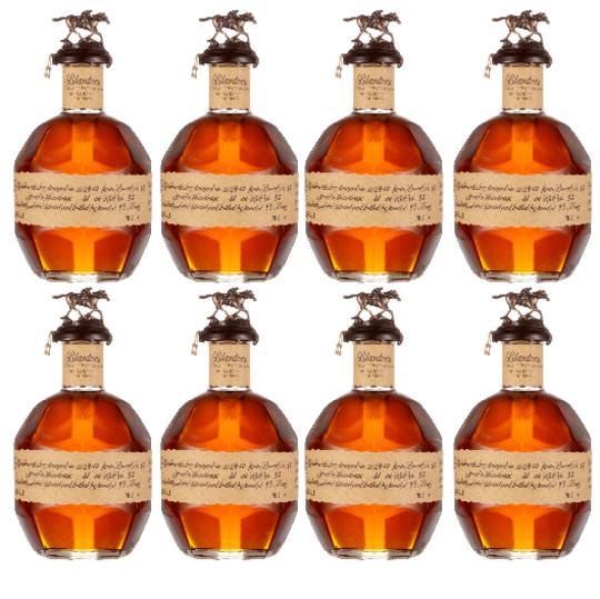Blanton's Original Single Barrel Bourbon Complete Stopper Collection 700ml Bottle