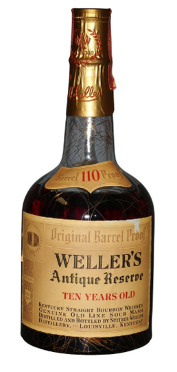 W. L. Weller Antique Reserve 10 Year Old Straight Bourbon Whiskey 750ml Bottle