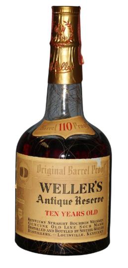 W. L. Weller Antique Reserve 10 Year Old Straight Bourbon Whiskey 750ml Bottle
