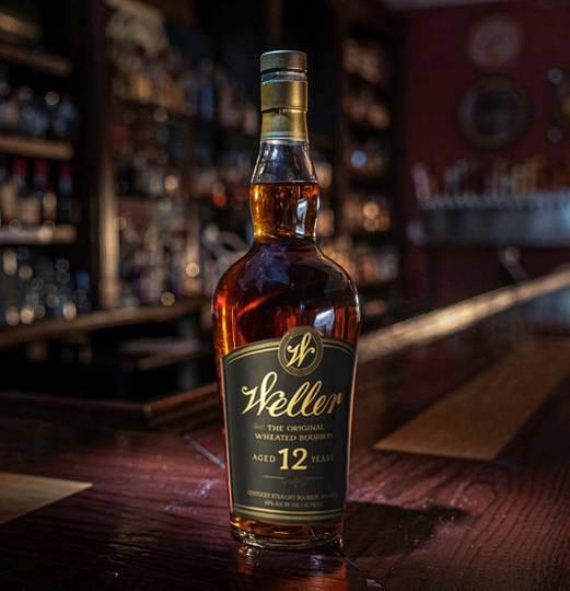 W. L. Weller 12 Year Old Kentucky Straight Bourbon Whiskey 750ml Bottle