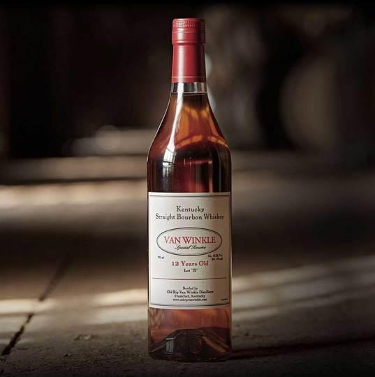 Old Rip Van Winkle Van Winkle Special Reserve 12 Year Old Lot B Bourbon 750ml Bottle