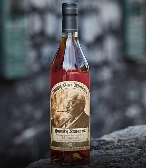 Old Rip Van Winkle Pappy Van Winkle's 15 Year Old Family Reserve Bourbon 750ml Bottle