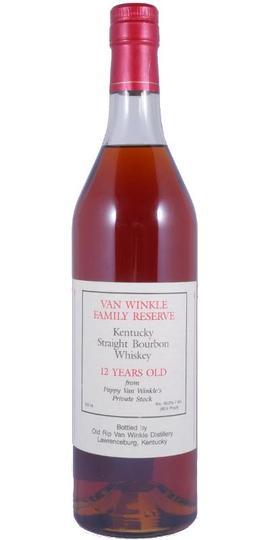 Old Rip Van Winkle Van Winkle Family Reserve 12 Year Old Bourbon 750ml Bottle
