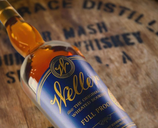 W. L. Weller Full Proof Wheated Bourbon Whiskey 750ml Bottle